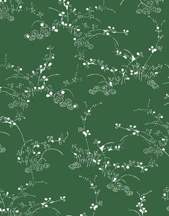 植物柄のパターンのイラスト素材 [FYI04288936]