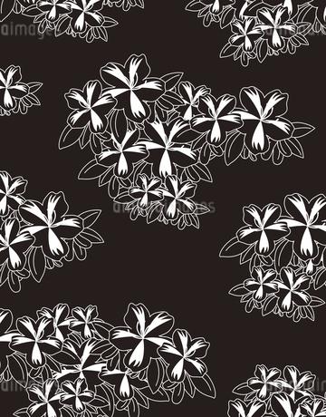 植物柄のパターンのイラスト素材 [FYI04288952]