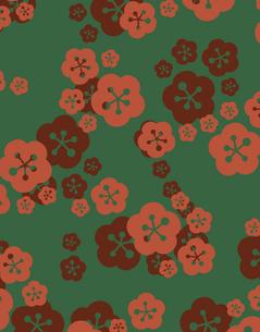 花柄のパターンのイラスト素材 [FYI04289006]