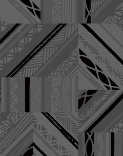 モダン柄のパターンのイラスト素材 [FYI04289007]