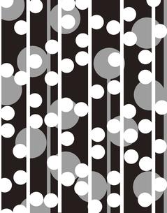 モダン柄のパターンのイラスト素材 [FYI04289019]