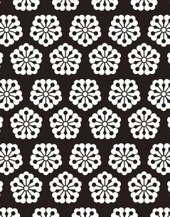 和柄のパターンのイラスト素材 [FYI04289021]