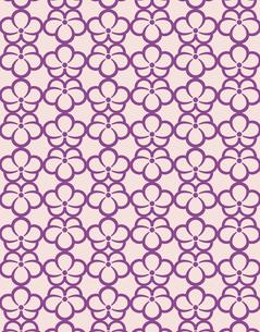花柄のパターンのイラスト素材 [FYI04289028]