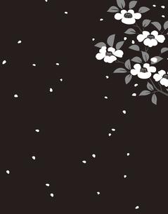 花柄のパターンのイラスト素材 [FYI04289036]