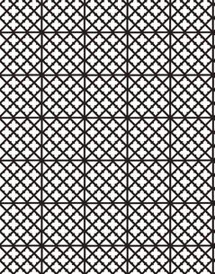 幾何学模様のパターンのイラスト素材 [FYI04289046]