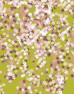 花柄のパターンのイラスト素材 [FYI04289056]
