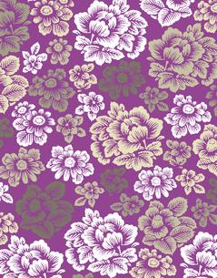 花柄のパターンのイラスト素材 [FYI04289062]