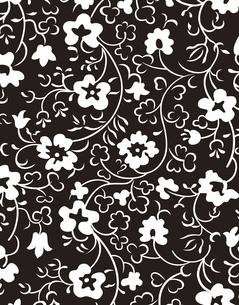 花柄のパターンのイラスト素材 [FYI04289077]