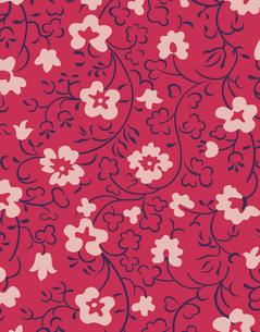 花柄のパターンのイラスト素材 [FYI04289078]