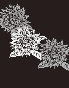 花柄のパターンのイラスト素材 [FYI04289079]