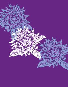 花柄のパターンのイラスト素材 [FYI04289080]