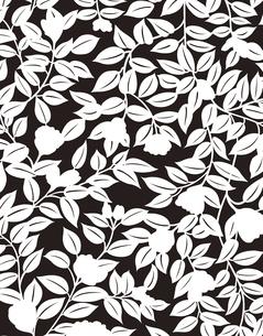 植物柄のパターンのイラスト素材 [FYI04289081]
