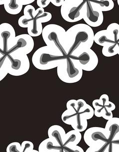 花柄のパターンのイラスト素材 [FYI04289083]