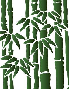 竹林のパターンのイラスト素材 [FYI04289090]