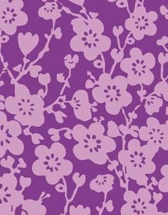 花柄のパターンのイラスト素材 [FYI04289114]