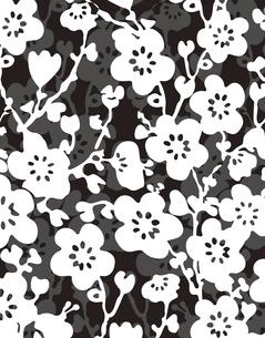 花柄のパターンのイラスト素材 [FYI04289115]