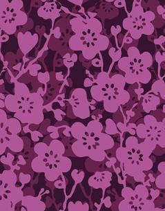 花柄のパターンのイラスト素材 [FYI04289116]