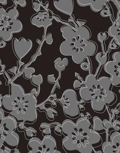 花柄のパターンのイラスト素材 [FYI04289117]