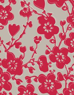 花柄のパターンのイラスト素材 [FYI04289118]