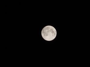 満月の写真素材 [FYI04290039]