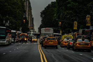 ニューヨーク・ロウアーマンハッタンの街並みの写真素材 [FYI04290075]