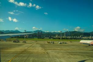 台湾・台北の街並みと夏空の写真素材 [FYI04290084]