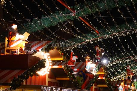 クリスマスマーケットの装飾のイメージの写真素材 [FYI04290122]