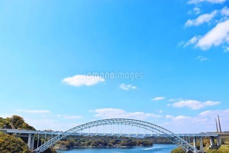新西海橋と針尾送信所の写真素材 [FYI04290345]