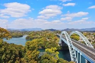 新西海橋の写真素材 [FYI04290874]