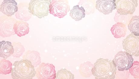 椿 背景のイラスト素材 [FYI04291272]