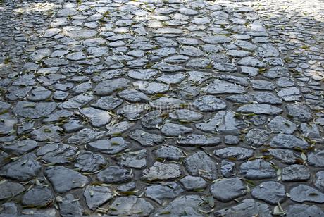 石だたみの写真素材 [FYI04291329]
