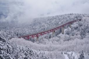 冬の三国峠の写真素材 [FYI04291693]