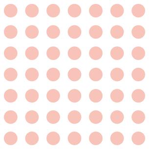 ピンク水玉模様のイラスト素材 [FYI04293122]