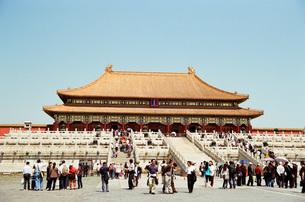 故宮 紫禁城 大和殿 中国最大の木造建築 都会 北京の写真素材 [FYI04293146]