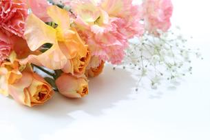 様々な花の花束の写真素材 [FYI04293661]