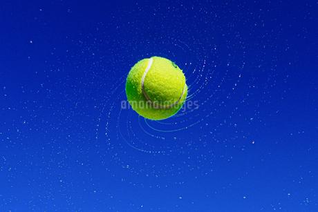 テニスボールの写真素材 [FYI04293669]