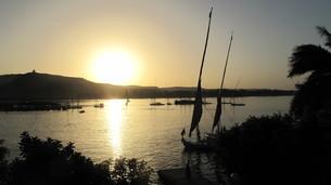 ナイル川のフルーカの写真素材 [FYI04293754]