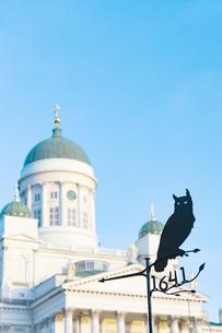 ヘルシンキ大聖堂  フィンランドの写真素材 [FYI04293770]