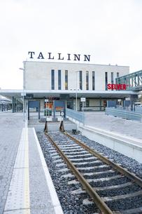 バルト駅(タリン中央駅) エストニアの写真素材 [FYI04293804]