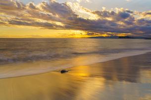 海辺のサンセット の写真素材 [FYI04293933]