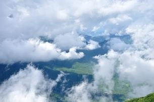 雲の群れの写真素材 [FYI04294230]