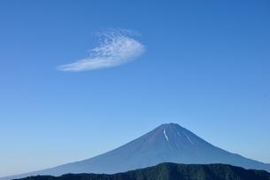 夏富士に青空の写真素材 [FYI04294710]