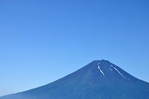 夏富士山コピースペースの写真素材 [FYI04294755]