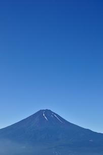 夏富士山コピースペースの写真素材 [FYI04294757]