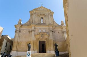 チタデルのゴゾ大聖堂の写真素材 [FYI04294899]