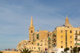 サン・ポール臨時主教座聖堂とカーマライト教会の写真素材 [FYI04294923]