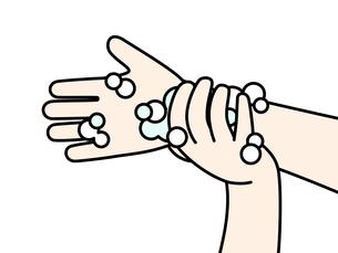 手洗い-手首のイラスト素材 [FYI04294987]