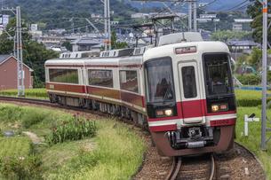 日本の鉄道、南海電鉄特急こうや号の写真素材 [FYI04295088]