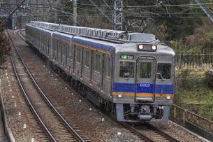 日本の鉄道、南海高野線の写真素材 [FYI04295094]