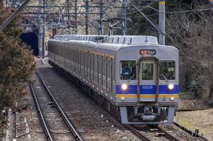 日本の鉄道、南海高野線の写真素材 [FYI04295095]